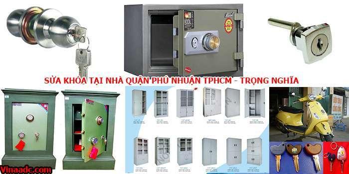 Sửa khóa tại nhà quận Phú Nhuận TPHCM